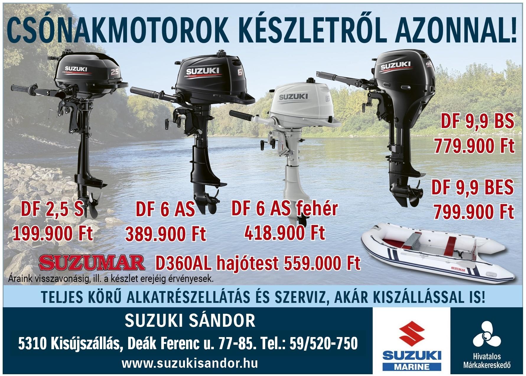 Suzuki csónakmotor